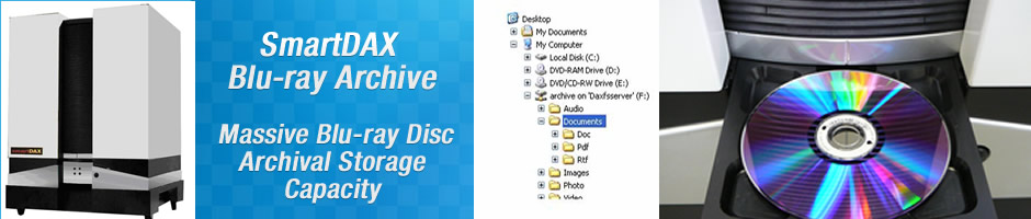 PRODUCTS - SmartDAX Blu-ray Archive - Challenge