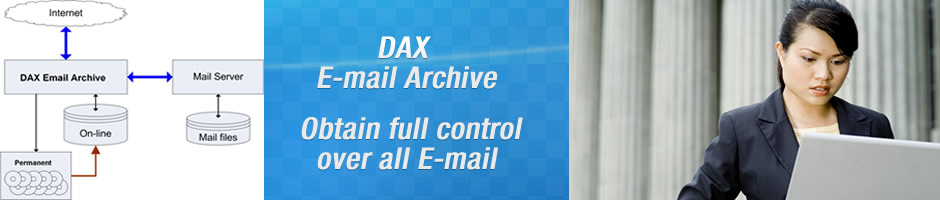SOLUTIONS - DAX Email Archive - Benefits