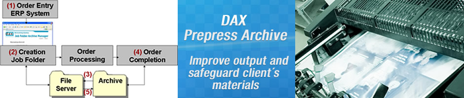 SOLUTIONS - DAX Prepress Archive - Benefits