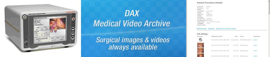 SOLUCIONES - DAX Medical Video Archive - Beneficios