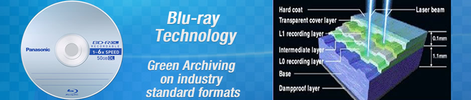 Resources - Archiving & Storage  Whitepapers - Blu-ray Disc Technology